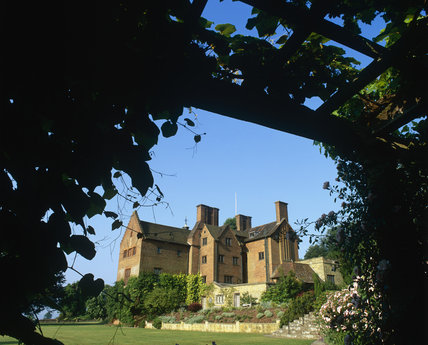A view of the house from the pergola at Chartwell, the home of Sir Winston Churchill in Kent