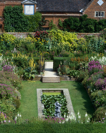 The Sunken Garden at Packwood House, Warwickshire