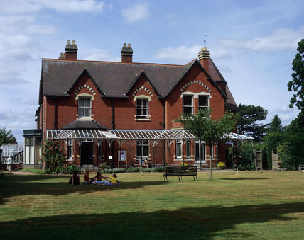 Exterior view of the late Victorian gentleman's villa in Shropshire