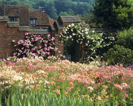 The nursery beds at Chartwell, Kent, the family home of Sir Winston Churchill from 1922 until 1965