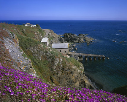 Lizard Point, most southerly point of the UK mainland, Cornwall