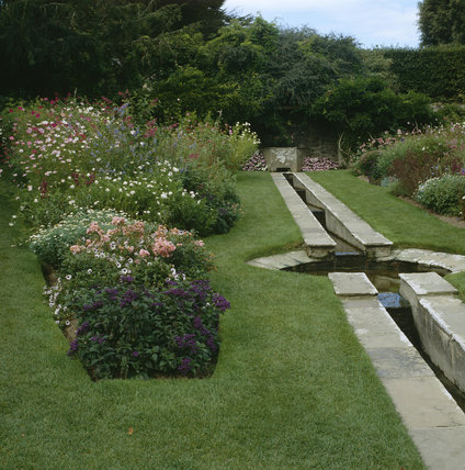 Rill in the garden at Coleton Fishacre, the Arts & Crafts-style house designed in 1925 for Rupert and Lady Dorothy D'Oyly Carte, at Kingswear, Devon