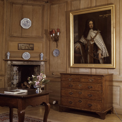 The Oak parlour at Lamb House Rye