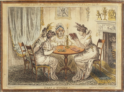 TALES OF WONDER by Gillray, 1802