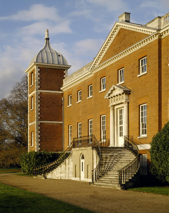 The West Front of Osterley Park, designed by Chambers