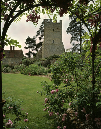 The Rose Garden at Grey's Court