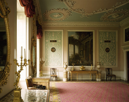 A room view of the Eating Room at Osterley Park