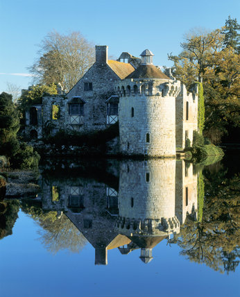 Scotney Castle Garden is one of England's most romantic gardens