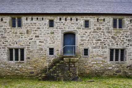 Old farm building on the estate of Godolphin House, near Helston, Cornwall