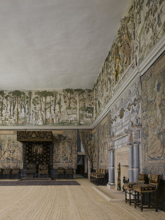 The High Great Chamber at Hardwick Hall, Derbyshire