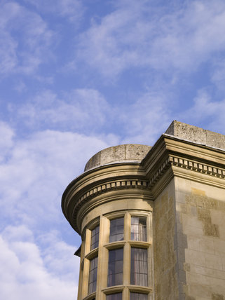 Exterior detail at Hartwell House, a historic house hotel in Buckinghamshire