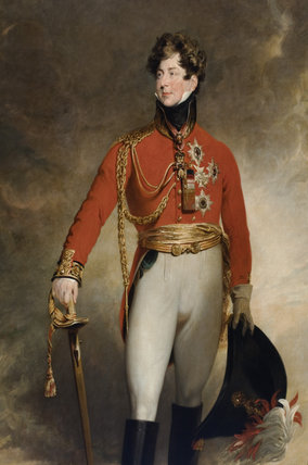 The Prince Regent Later George Iv In Field Marshal S