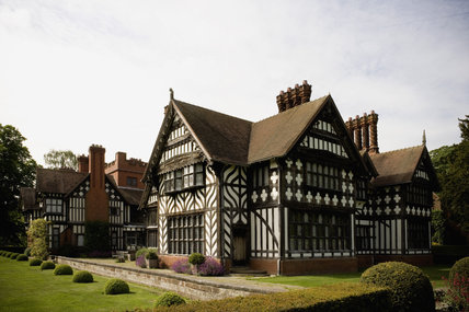 Wightwick Manor, Wolverhampton, West Midlands, designed by Edward Ould for the Mander family and built between 1887-8
