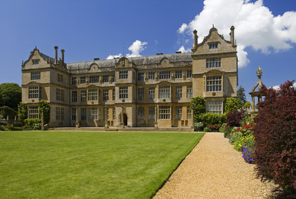 The east front at Montacute House, Somerset