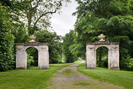 Worcester Lodge Gates at Croome Park, Croome D'Abitot, Worcestershire