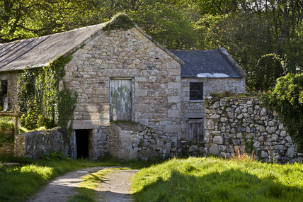 Farm buildings on the Godolphin Estate, Helston, Cornwall