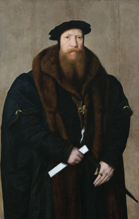 WILLIAM, 1ST BARON PAGET DE BEAUDESERT, (1505/6-63) Flemish, sixteenth century painting in the Gothick Hall at Plas Newydd, Anglesey