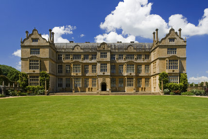 The east front of Montacute House, Somerset
