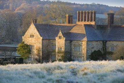 A frosty morning at Bateman's, Burwash, East Sussex