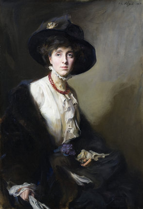VITA SACKVILLE-WEST, a portrait by Philip de Laszlo at Knole in 1910