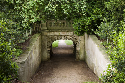 The Dry Arch Bridge, post-conservation, at Croome Park, Croome D'Abitot, Worcestershire