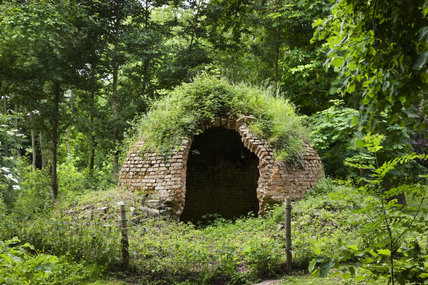 The icehouse at Croome Park, Croome D'Abitot, Worcestershire