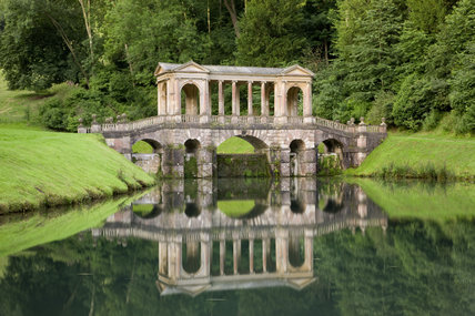 The Palladian Bridge at Prior Park Landscape Garden, Bath