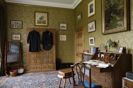 The Dressing Room for Tommy Robartes's Bedroom at Lanhydrock, Cornwall