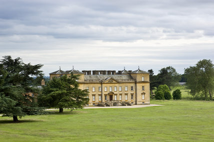 North front of the house at Croome Park, Croome D'Abitot, Worcestershire