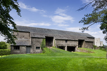 The Great Barn at Sizergh Castle, near Kendal, Cumbria