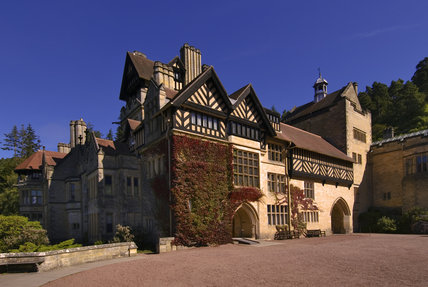 The Entrance Front at Cragside, Morpeth, Northumberland