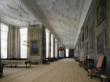 The Long Gallery at Hardwick Hall, Derbyshire