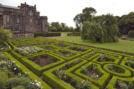 Seaton Delaval Hall, Northumberland, built between 1718 and 1728 for Admiral George Delaval and designed by Sir John Vanbrugh