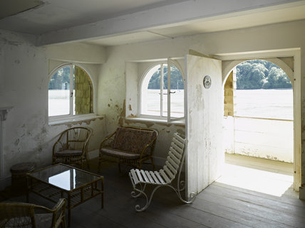 The Boathouse at Greenway, Devon, which was the holiday home of the crime writer Agatha Christie between 1938 and 1976