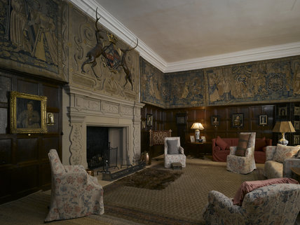 The Drawing Room at Hardwick Hall, Derbyshire