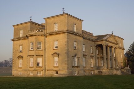 South and West fronts of eighteenth-century Croome Court, Croome Park, Worcestershire