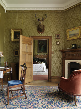 Tommy Robartes's Bedroom at Lanhydrock, Cornwall