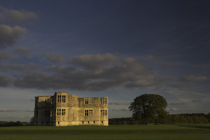 The north, west and south wings, seen from the west, at Lyveden New Bield near Oundle, Northamptonshire