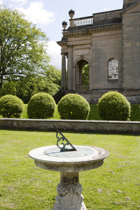 Sundial to the west side of Chapel at Gibside, Newcastle upon Tyne