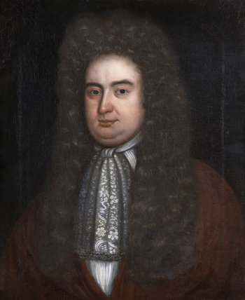 WILLIAM CONYNGHAM THE YOUNGER (died 1721), English School. c.1700, the builder of Springhill, Co. Londonderry.