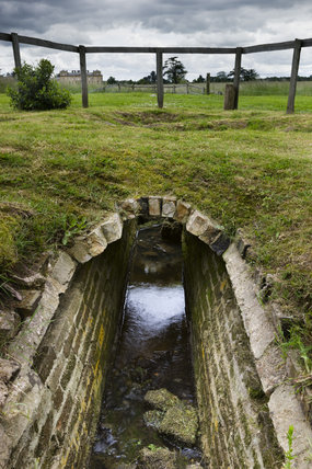 A drainage culvert in the Evergreen Shrubbery at Croome Park, Croome D'Abitot, Worcestershire