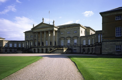 The north front of Kedleston Hall, Derbyshire