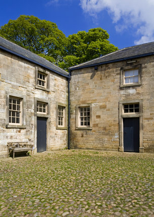 The Stables Courtyard which forms part of the estate at Gibside, Newcastle upon Tyne