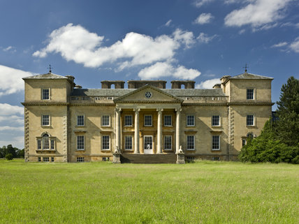 The south front of the house at Croome Park, Croome D'Abitot, Worcestershire