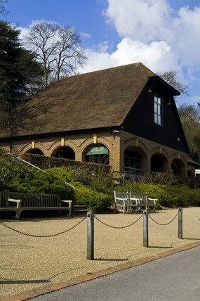 The National Trust restaurant at Chartwell, the home of Sir Winston Churchill, in Kent