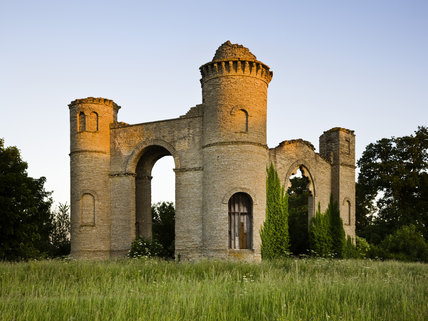 Dunstall Castle at Croome Park, Croome D'Abitot, Worcestershire
