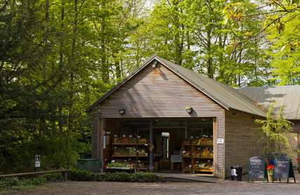 The Farm Shop at Wallington, Morpeth, Northumberland, which is open all year round in support of the estate's farm tenants and other regional suppliers