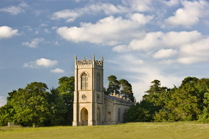 The church of St Mary Magdalene at Croome Park, Croome D'Abitot, Worcestershire
