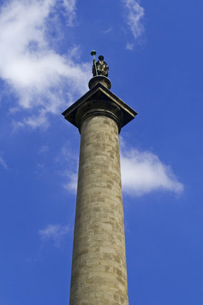 The Column to Liberty monument which rises to 140 feet at Gibside, Newcastle upon Tyne
