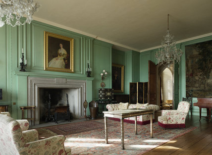 The Drawing Room at Castle Drogo, Devon